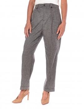 Woolrich Pantalone Grigio Melange - WWPAN1259 UT1494 117 - Semenzato Abbigliamento